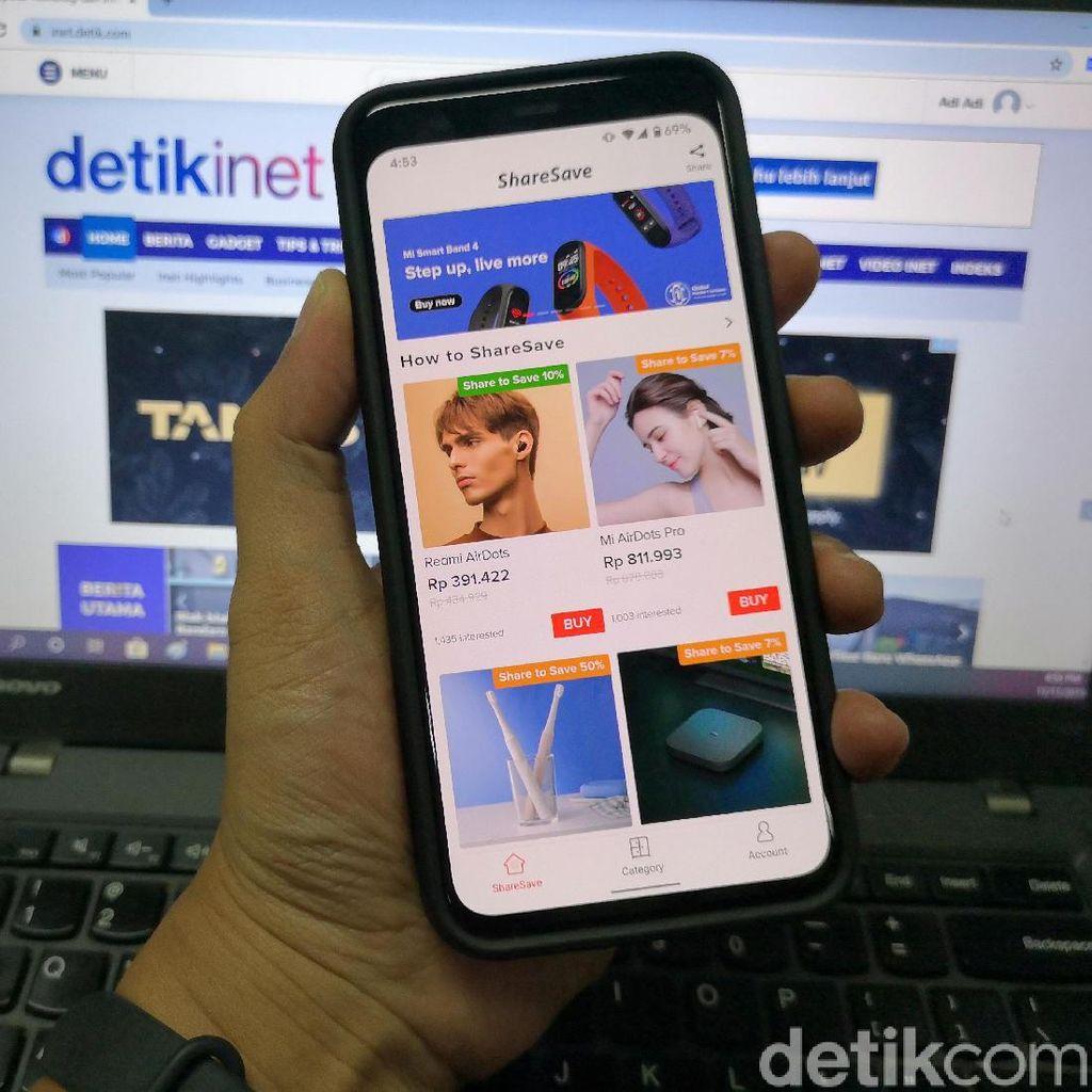 ShareSave Tawarkan Produk Xiaomi Harga Murah