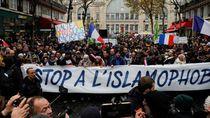Lebih dari 10 Ribu Orang Ikut Aksi Melawan Islamofobia di Prancis