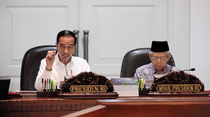 Jokowi-Maruf Amin (Andhika Prasetya/detikcom)