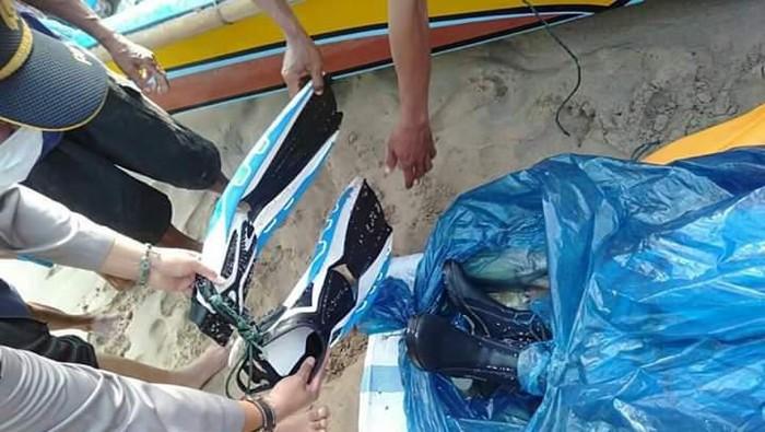 Jasad penyelam yang ditemukan di Lampung, Senin (11/11/2019) Foto: DOK. ISTIMEWA