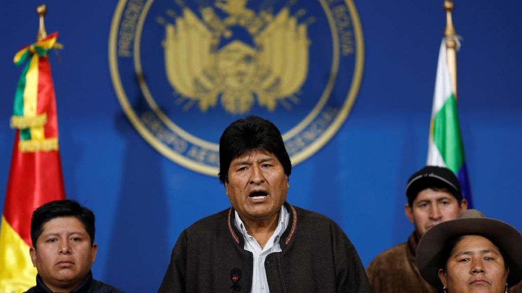 Bolivia Perintahkan Tangkap Eks Presiden Morales Terkait Terorisme