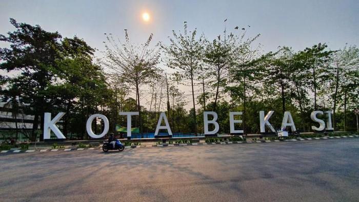 Foto: Ikon Kota Bekasi (Isal/detikcom)
