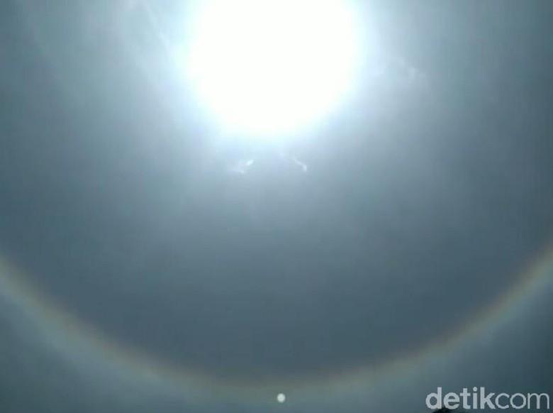 Fenomena Matahari Bercincin Tampak di Trenggalek dan Tulungagung