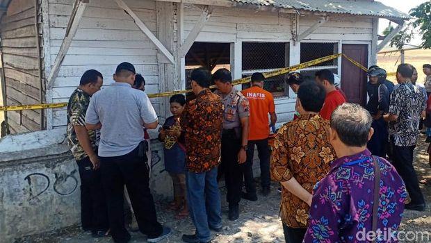 Warung TKP pembunuhan wanita bersimbah darah di Jalingkut, Pemalang.
