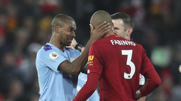 Liverpool berhasil mengalahkan Manchester City dengan skor 3-1.