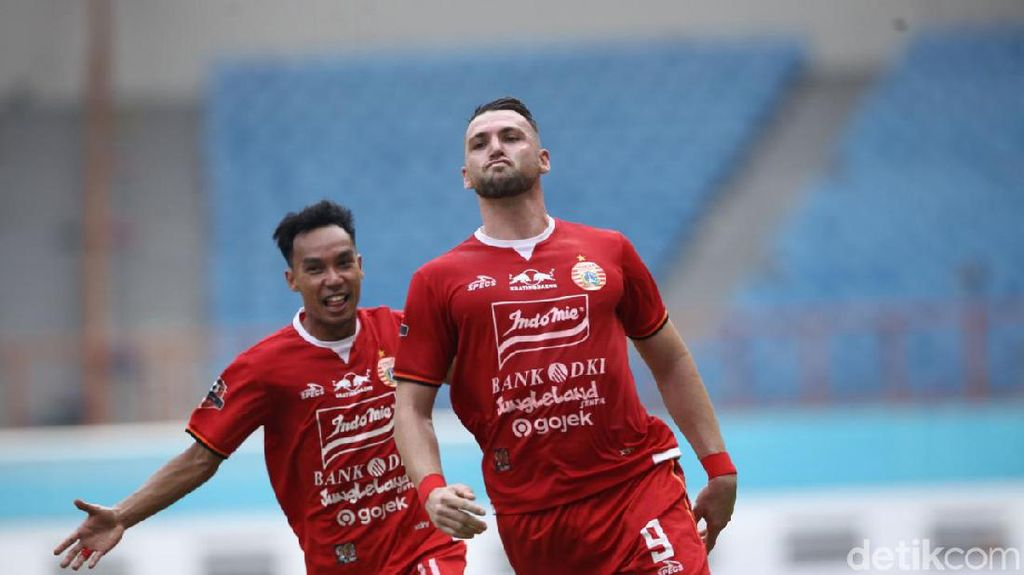 Marko Simic Empat Gol, Persija Vs Borneo FC Selesai 4-2