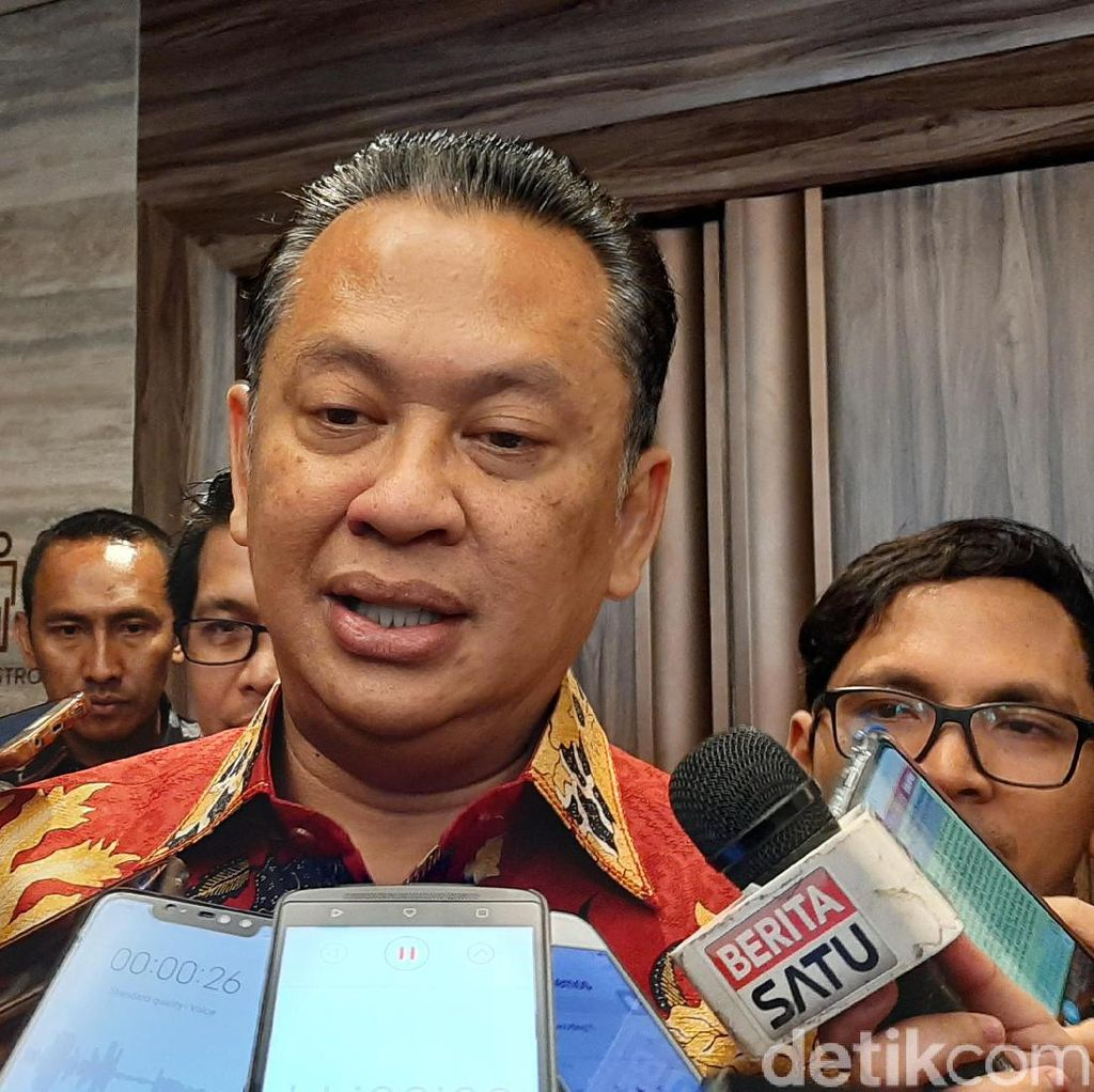 Ketua MPR Sebut Jokowi Sepakat Masa Jabatan Presiden 2 Periode