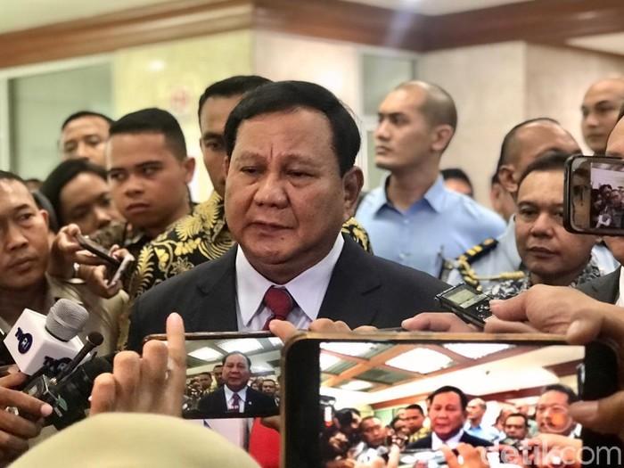 Foto: Prabowo Subianto (Mochammad Zhacky/detikcom)