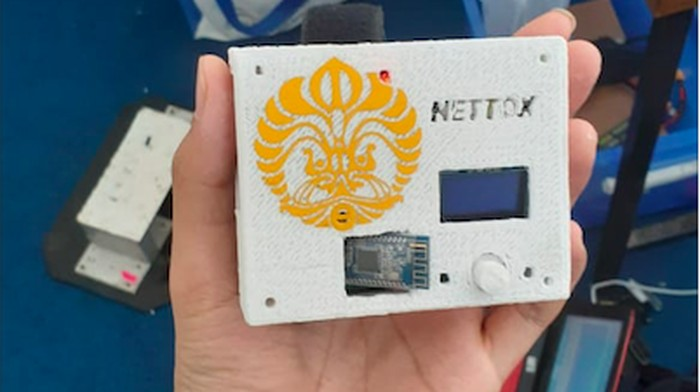 Nettox membantu proses detoks mereka yang kecanduan gadget. (Foto: dok: UI)