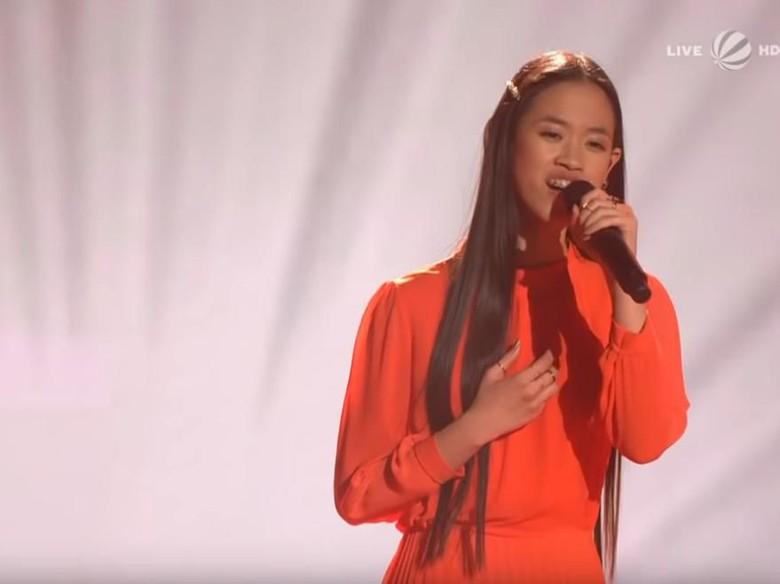Sosok Claudia Santoso, Gadis Cirebon Pemenang The Voice Jerman Foto: The Voice Germany/ YouTube