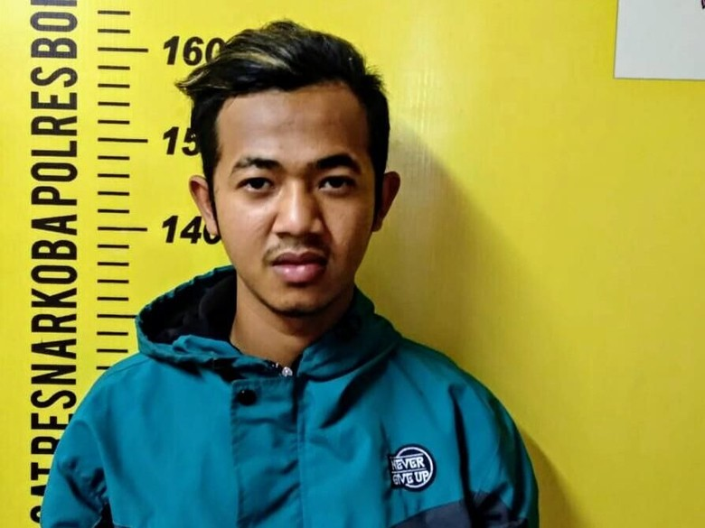 Pemuda Ini Diamankan Karena Tanam Ganja di Halaman Rumahnya