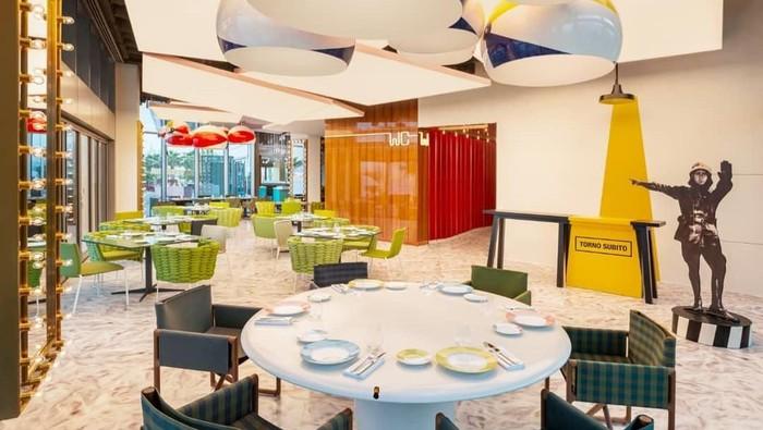 Restoran Torno Subito di Dubai milik celebrity chef Massimo Bottura Foto: Instagram/tornosubitodubai