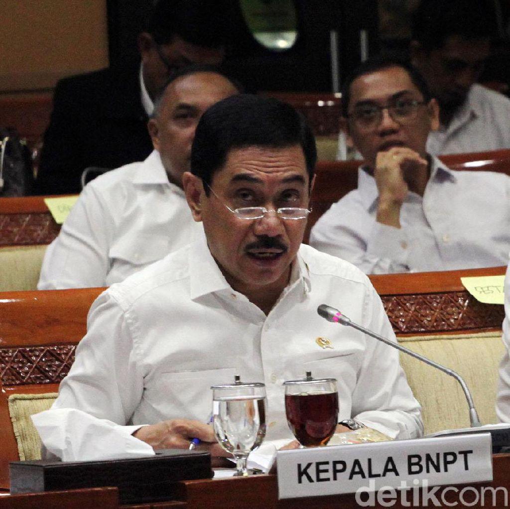 BNPT Bantah Eks Menhan Ryamizard soal 3 Persen TNI Terpapar Radikalisme