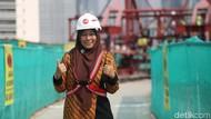 Rahasia Dina Bangun Jembatan Lengkung Terpanjang untuk LRT Jabodebek