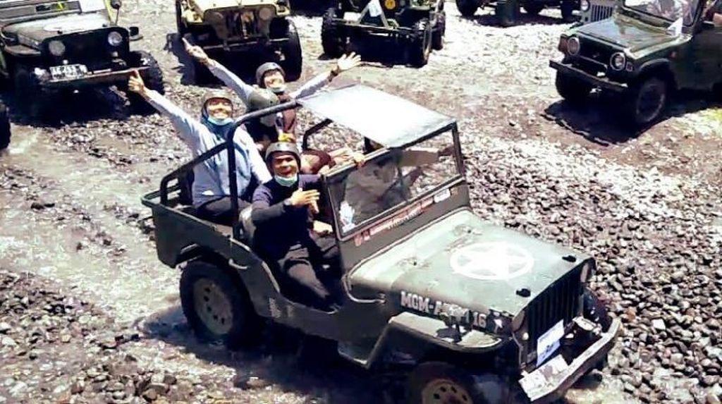 Naik Jeep di Merapi, Seru!