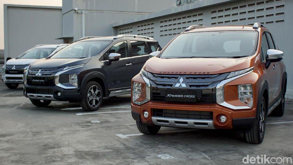 Xpander Cross Meluncur Mitsubishi Belum Kelar Hitung SPK