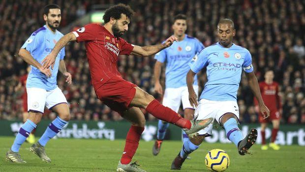 Man City pernah menjegal Liverpool di awal tahun.