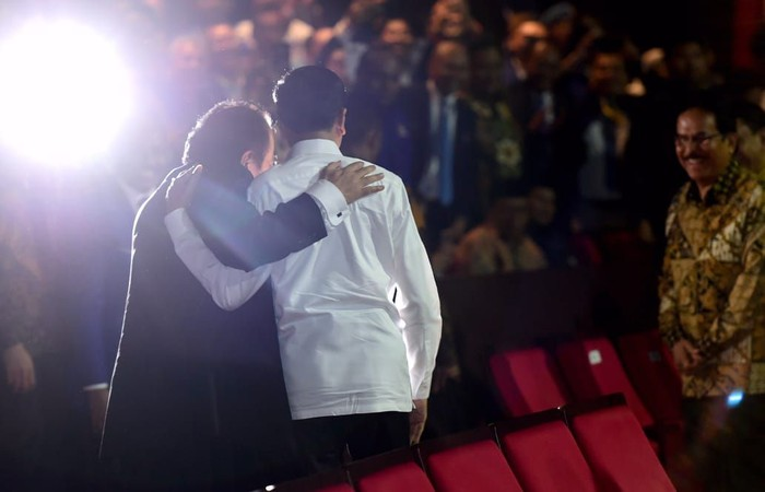 Surya Paloh dan Jokowi (Muchlis Jr/Biro Pers Kepresidenan)