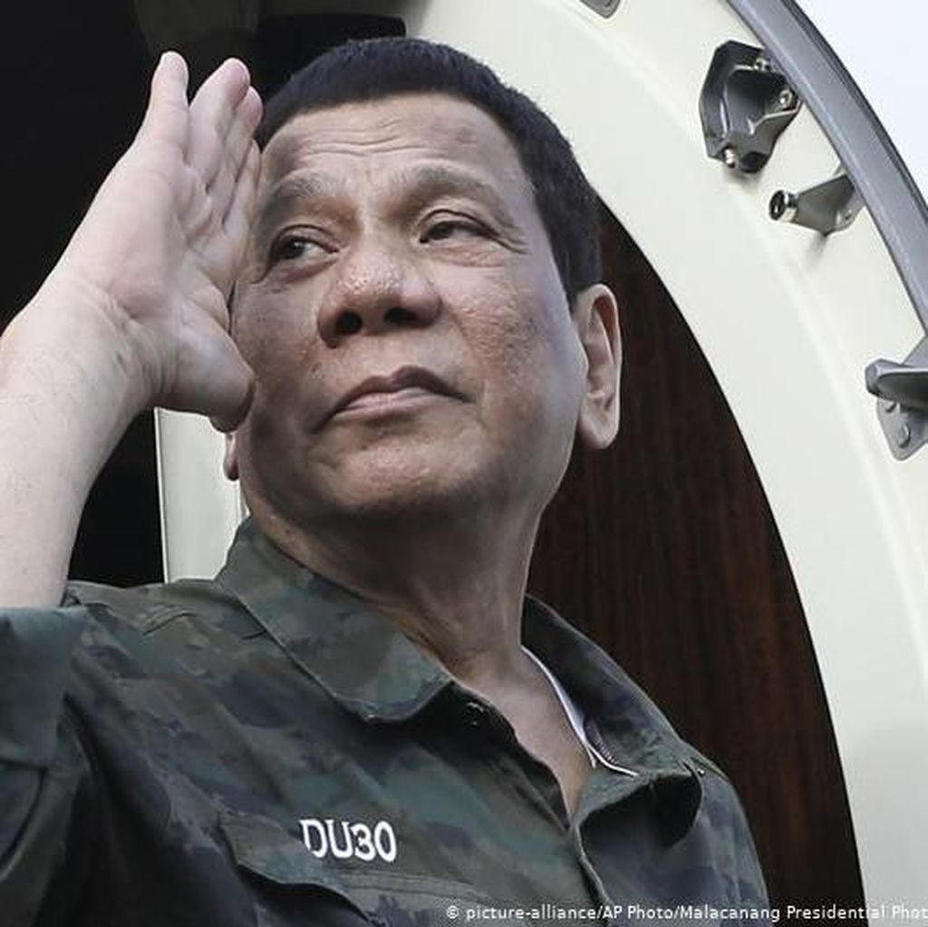 Jadwal Terlalu Padat, Presiden Filipina Duterte Putuskan Rehat 3 Hari