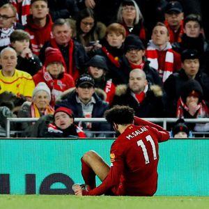 Engkel Salah Masih Bermasalah, Liverpool Was-was