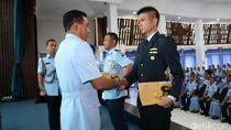 132 Perwira Menengah Lulus dari Sesko AU Lembang