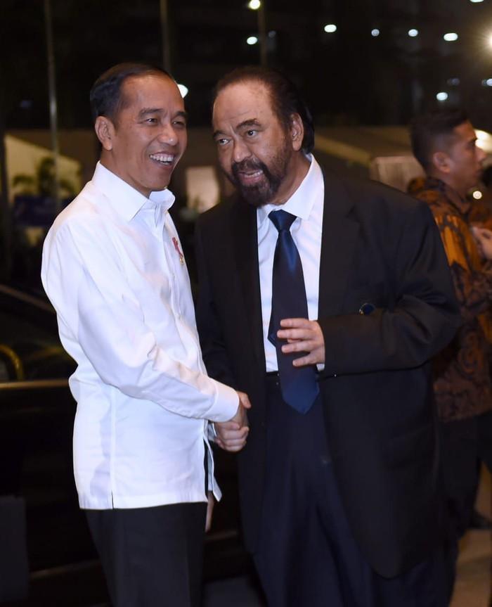 Jokowi dan Surya Paloh (Muchlis Jr/Biro Pers Sekretariat Kepresidenan)
