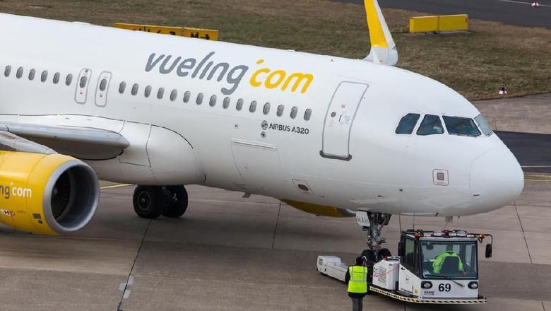 Foto: Pesawat Vueling Airlines (iStock)