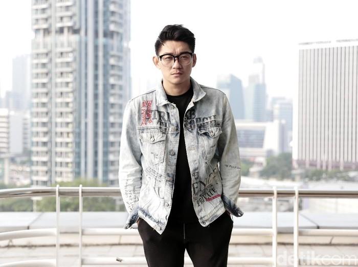Ifan Seventeen saat berkunjung ke kantor detikcom.