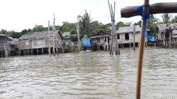 Foto Pulau Tak Bergunung tapi Punya Pemandian Air Panas
