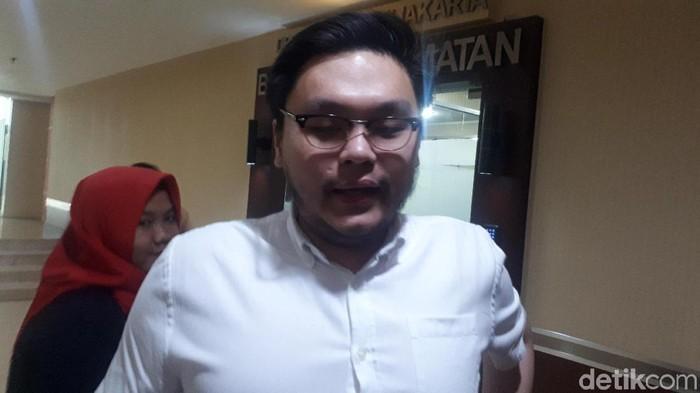 Anggota DPRD DKI Jakarta dari Fraksi PSI, William Aditya Sarana (Dwi Andayani/detikcom)