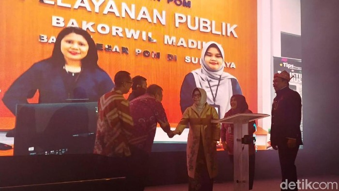 Rapat evaluasi BPOM di Surabaya (Amir Baihaqi/detikcom)