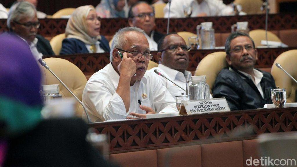 Saat Anggota DPR Todong Nomor HP Menteri PUPR di Tengah Rapat