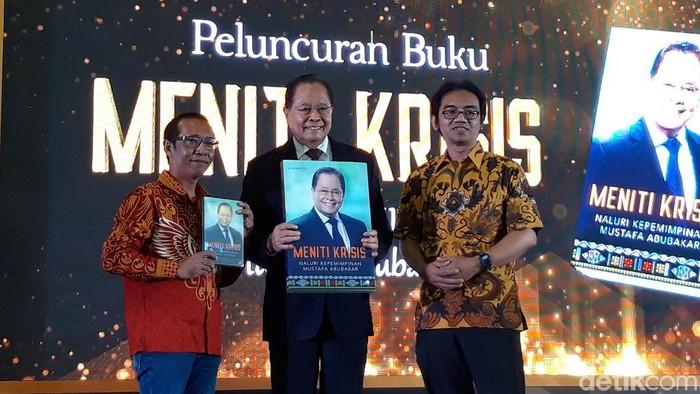 Eks Menteri BUMN, Mustafa Abu Bakar, Berbagi Pengalaman Memimpin Lewat Buku (Rahel/detikcom)