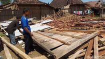 Dampak Angin Puting Beliung di Boyolali, Puluhan Rumah Rusak