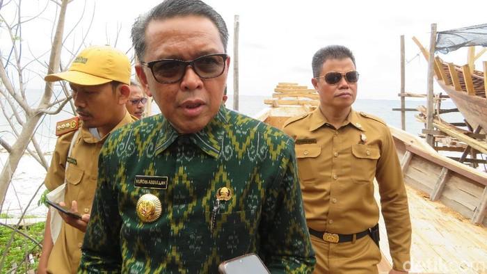 Gubernur Sulsel Nurdin Abdullah (Noval Dhwinuari/detikcom)