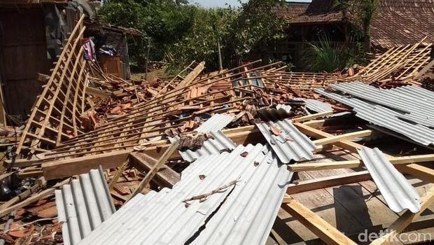 Dampak Puting Beliung di Boyolali, Puluhan Rumah Rusak