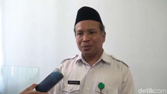 Foto: Ketua MUI Mamuju KH Namru Asdar (Abdy-detikcom)