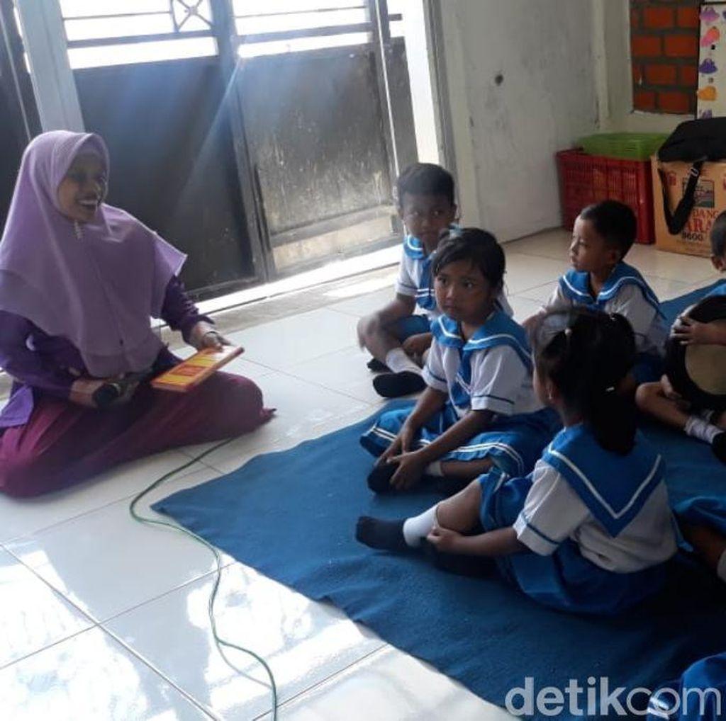 TK Ini Juga Terimbas SDN Gentong Ambruk, Proses Belajar di Rumah Wali Murid