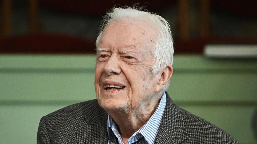 Pendarahan di Otak, Mantan Presiden AS Jimmy Carter Masuk Rumah Sakit