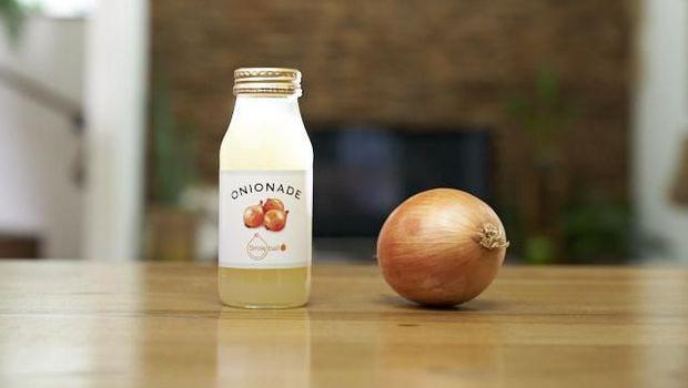 Onionade, Minuman Lemon dengan Paduan Bawang Bombay yang Hits