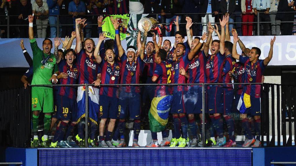 Juara Kompetisi Eropa di Barcelona Digaji Seumur Hidup