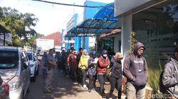 Pendaftaran CPNS Dibuka, Pembuat SKCK di Polrestabes Bandung Membludak