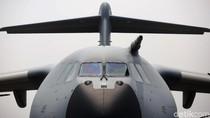 Melihat Lebih Dekat Pesawat Angkut AU Inggris A400M