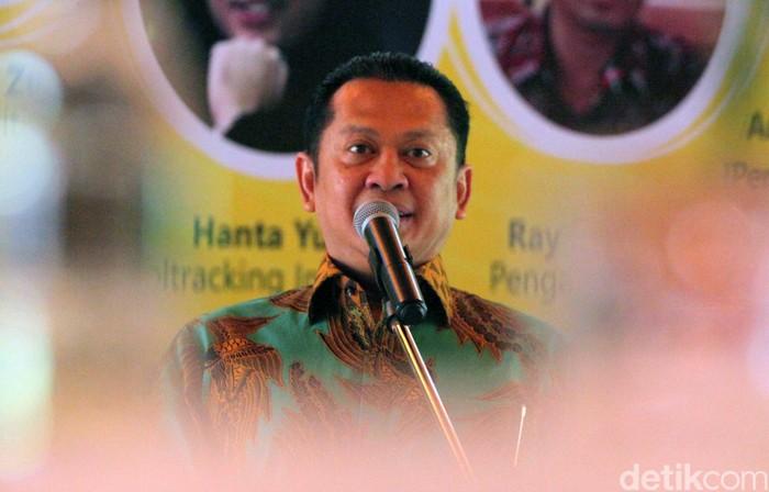 Ketua MPR Bambang Soesatyo (Lamhot Aritonang/detikcom)