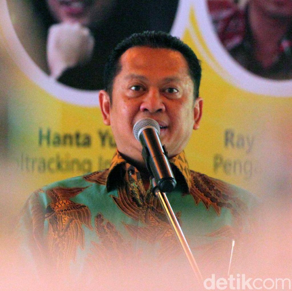 Airlangga Larang Anggota FPG Keluar Jakarta Jelang Munas, Ini Kata Bamsoet