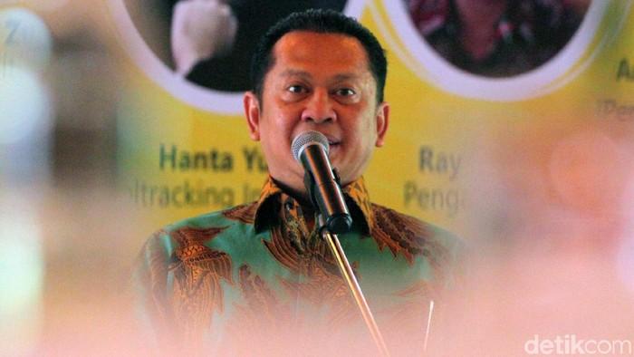 Wakorbid Pratama DPP Golkar Bambang Soesatyo (Bamsoet) (Lamhot Aritonang/detikcom)