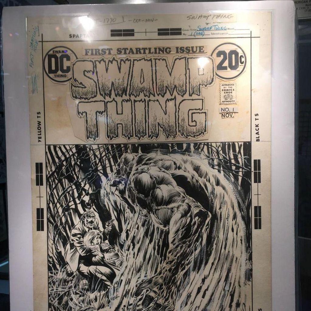 Sampul Komik Horor Swamp Thing dari Tahun 1983 Dilelang Rp 14 M