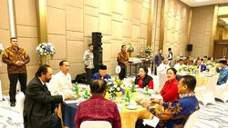Jokowi-Paloh Pelukan Erat, Bamsoet Nilai Cuaca Politik Kembali Cerah