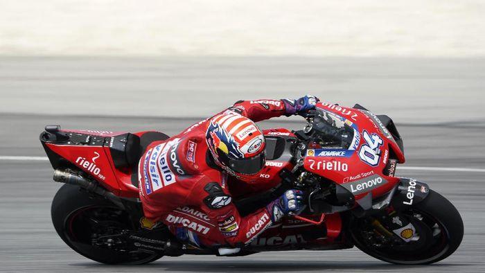 Andrea Doviozioso ingin membawa Ducati meraih gelar juara dunia tim (AP Photo/Vincent Thian)