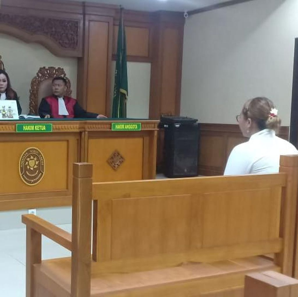 Majikan Penyiram Air Mendidih ke PRT di Bali Divonis 6 Tahun Penjara